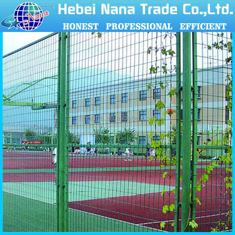 cheap prefab iron fence panels , construction hoarding fence