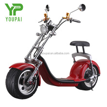1000W 50km/h fat tire 2 seat mobility scooter harley electric scooter electric motorcycle europe