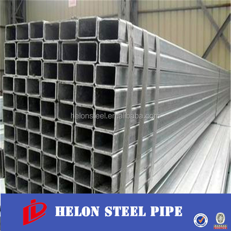 High quality MS Rectangular/Square steel tube 8 Japanese China manufacturer
