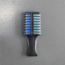 Professional temporary colorful hair color dye 2 sides comb type hair dye