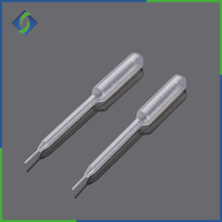 Different types of transfer pipette with CE ISO certificated