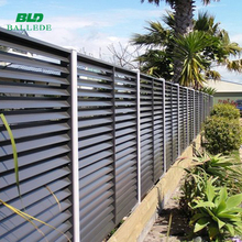 competitive price aerofoil blade aluminum louvre fence
