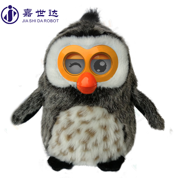 OWL shape plush toy christmas toy factory