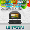 Witson S160 Android 4.4 Car DVD GPS For RENAULT KOLEOS 2014 with Quad Core Rockchip 3188 1080P 16g ROM WiFi