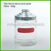 Aluminium Sticker Candy Glass Container