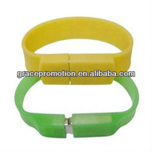 2014 newest design 2g Bracelet USB Flash Driver