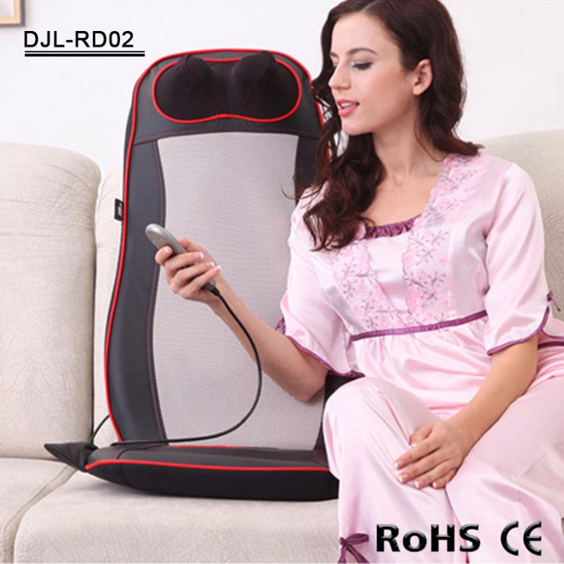 Home And Car Use Electronic Wellness Massage Cushion For Neck And Back Pain