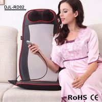 RD02 home and car use electronic wellness massage cushion for neck and back pain