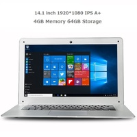 Intel Z8350 Quad Core CPU IPS 1920*1080 4GB Memory 64GB EMMC 14 inch Window 10 mini laptops and netbooks for business
