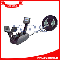 large scan area underground gold metal detector for test copper gold silver metal