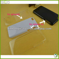 3d sublimation print material raw cover for iphone 5/5c clear case