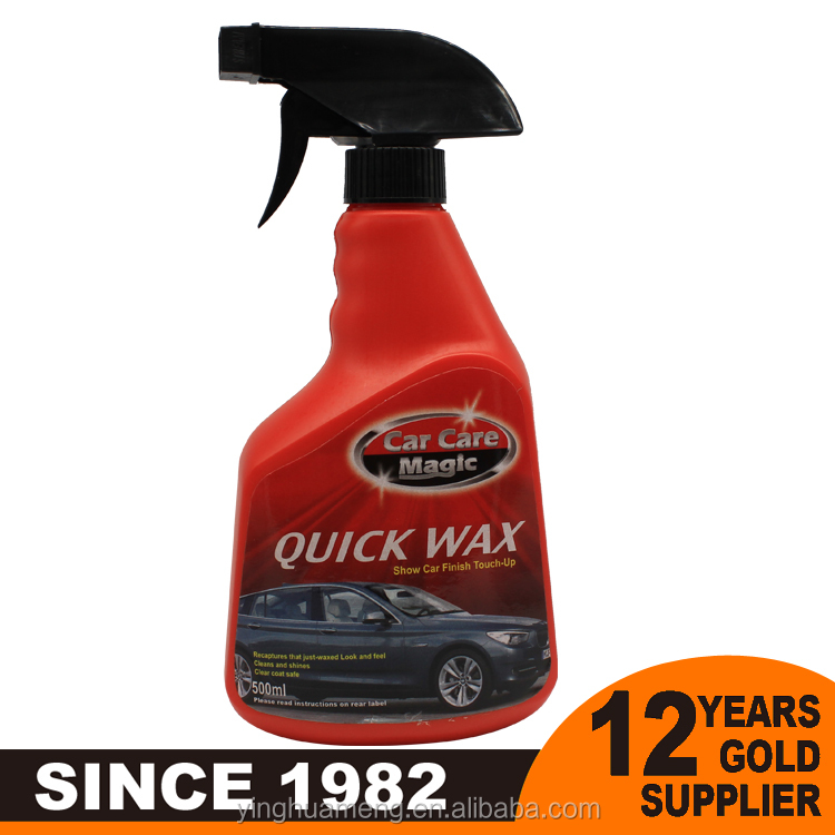 car body Car Care Magic quick wax