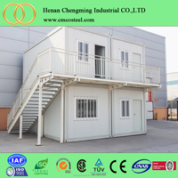 Factory-Built Multipurpose Beautiful Container House/China Low Cost Fast Assemble Prefab Shipping Container Homes