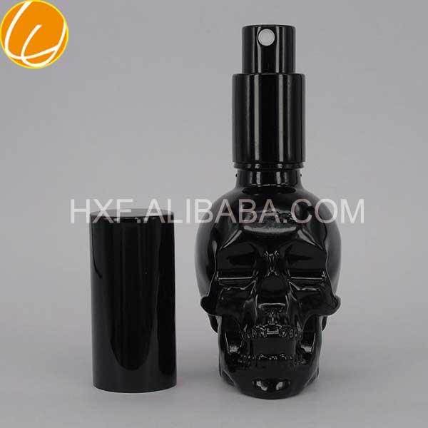 Wholesale thick liquid spray bottle e juce black glass bottle
