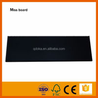 high quality strong magnetic black glass marker board