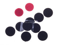 Customized Self adhesive hook and loop dots back with glue