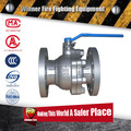 3 way motorized Flange ball valve with multifunction