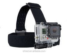 Wolesale Go pro Head Harness Headband Belt Mount Strap for Gopro Camera