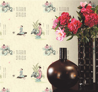 Chinese Supplier New interior chinese design wallpaper from china