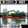 China amphibious excavator Zhenyu ZY80SD/ZY210SD swamp excavator for sale