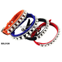 Leather Studded Decorative Pet Dog Collars