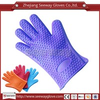 SEEWAY Different patterns silicone dotted oven gloves