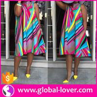Wholesale Fat Woman Clothing 2016 Trendy Plus Size Dress Dashiki