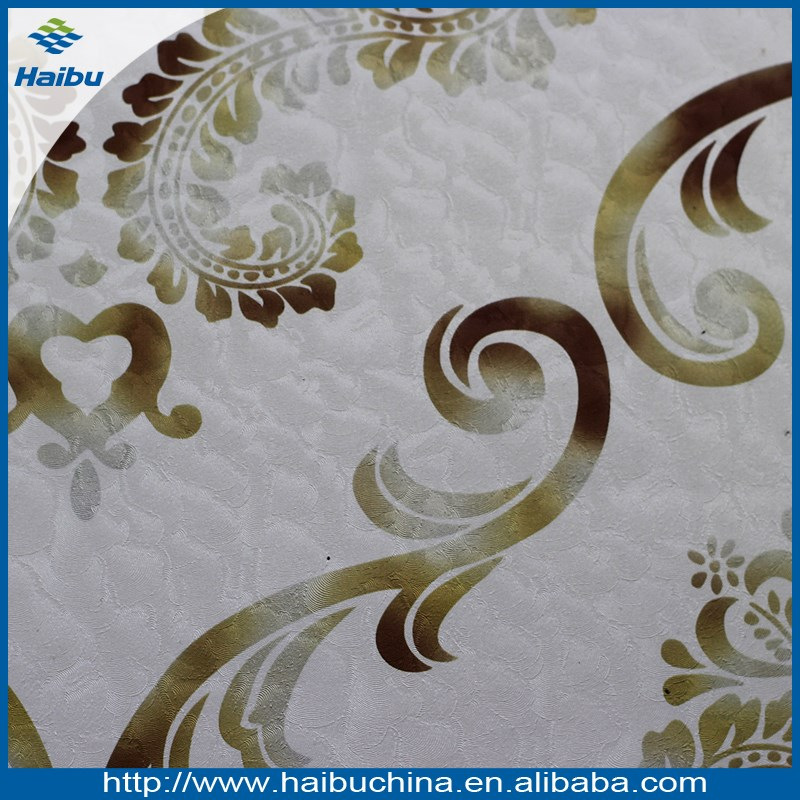 Wallpaper decoration material charming PVC decorative fabric material