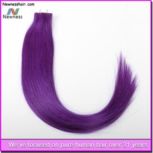 new arrival high quality skin weft pu glue brazilian virgin remy hair pu hair extensions