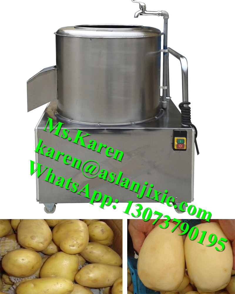 commercial potato taro ginger carrot peeler / potato peeling machine / potato skin removing machine