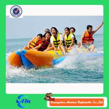 special best quality inflatable floating banana boat with cheap price