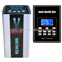 New product dual ionic detox foot baths/Health&medical ion detox foot cleanser with Heating belt