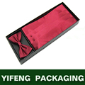 High quality bow tie packaging box cardboard tie box
