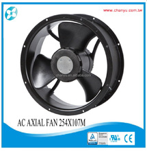 254X107mm AC Axial Fan Round type