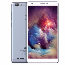 UHANS S3 6.0 inch HD China Mobile Phone MTK6580AW Quad Core Android 6.0 1GB RAM 16GB ROM 8MP Cam 3100mAh Fingerprint ID 3G WCDMA