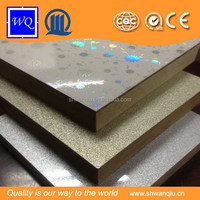 One Face UV Coating, One Face Melamine High Glossy Design MDF
