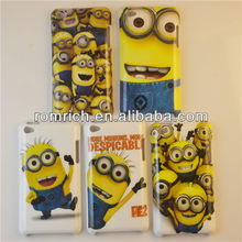 plastic hard cover 2013 popular cartoon Despicable Me 2 case for Apple Ipod Touch 4