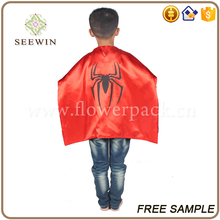 wholesale halloween decoration Anime Costumes superman cloak for kids