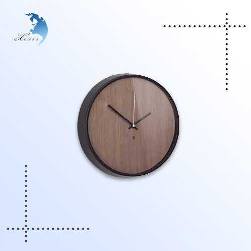 2014 hot sale classic round decoration wooden wall hanging clock
