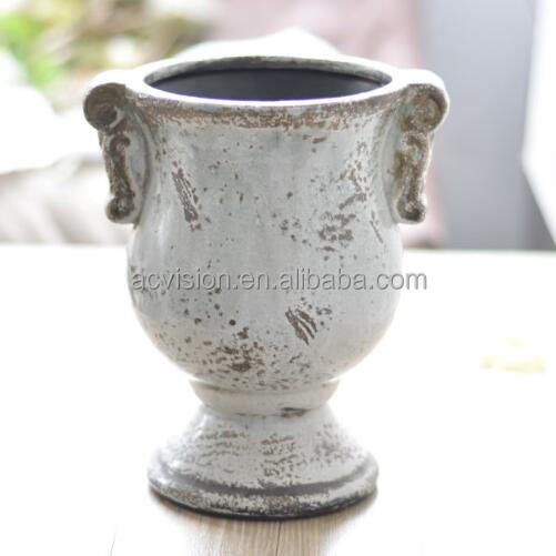 Hand painted and wholesale ceramic flower vases antique for sale