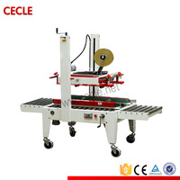Adhesive tape box sealer FXJ6050B semi auto carton box sealing machine price