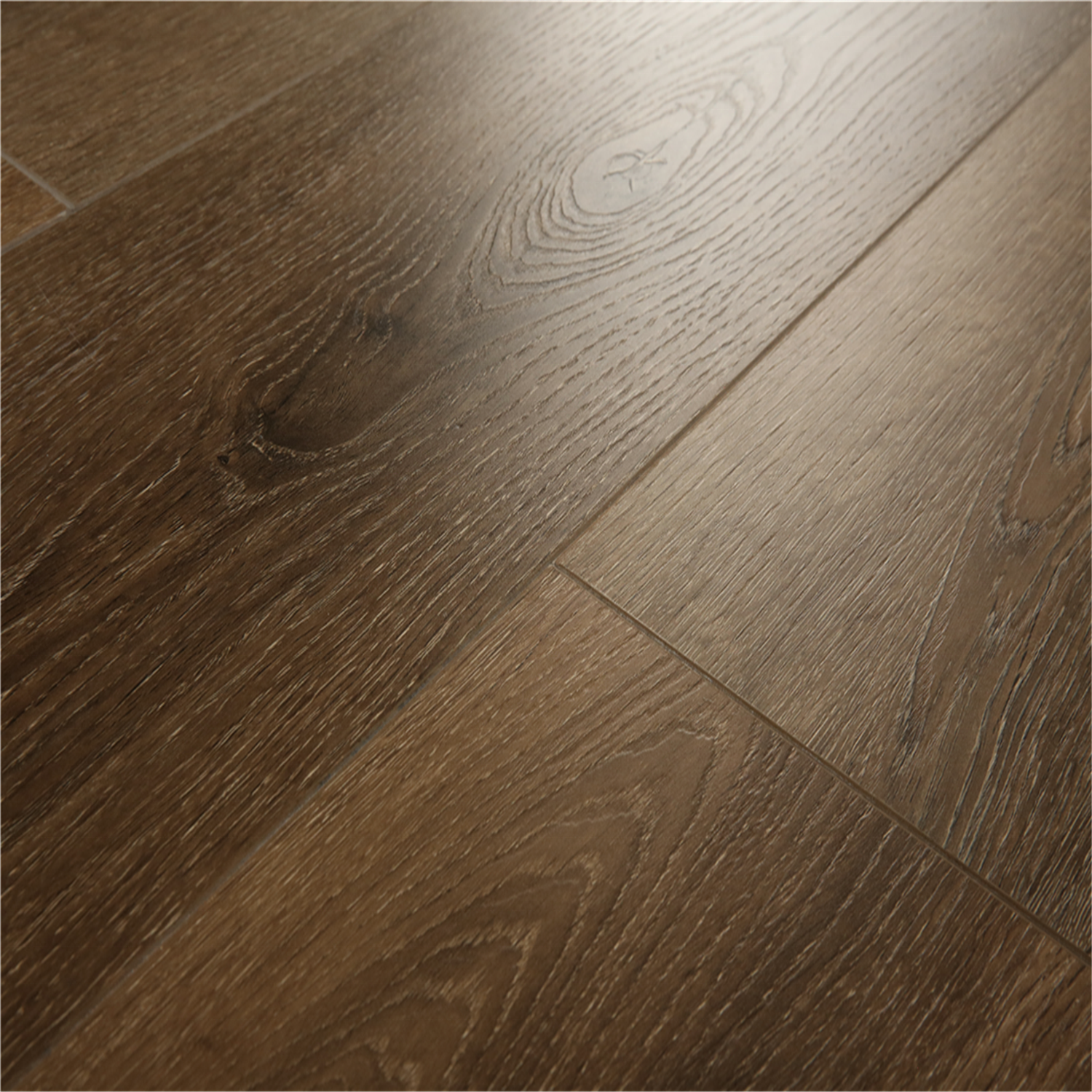 High Glossy Wood Grain Melamine UV Coated hdf 8mm 11mm 12mm laminate <strong>flooring</strong>