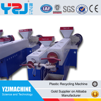 Double-shaft PP PET factory supply strapping band extrusion machin on sale