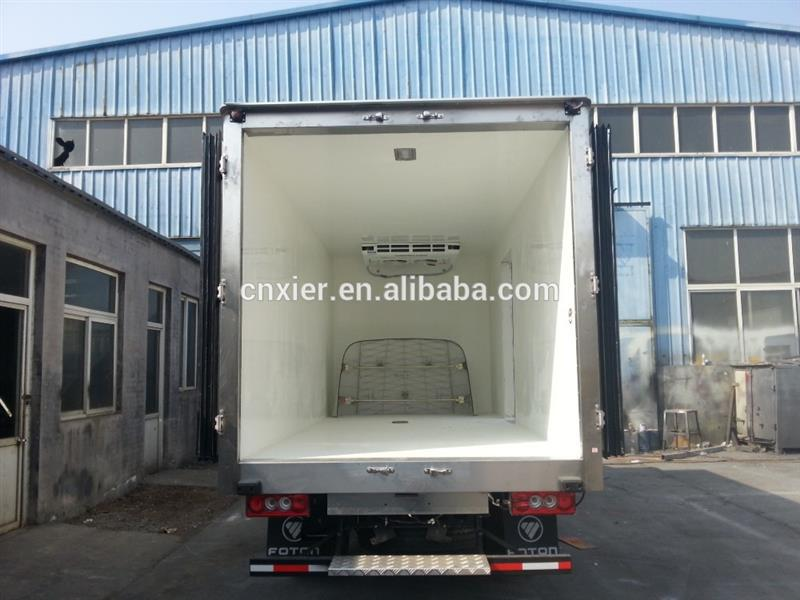 Plastic open load bed truck with CE certificate