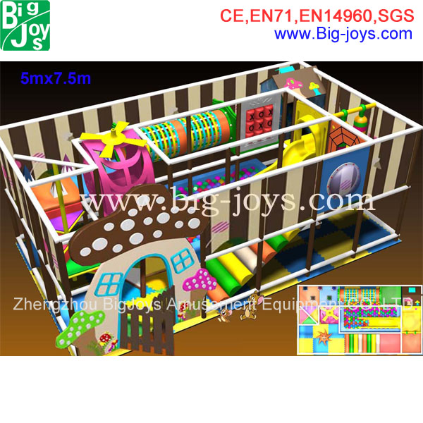 Factory direct sale cheap kids soft play home made indoor playground for sale
