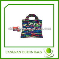 wholesales eco-friendly nylon foldable tote bag