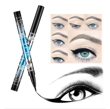 Hot Selling Heng Fei Waterproof Liquid Eye Liner Pencil Long Lasting Eyeliner No Blooming Cosmetic Makeup CA3662