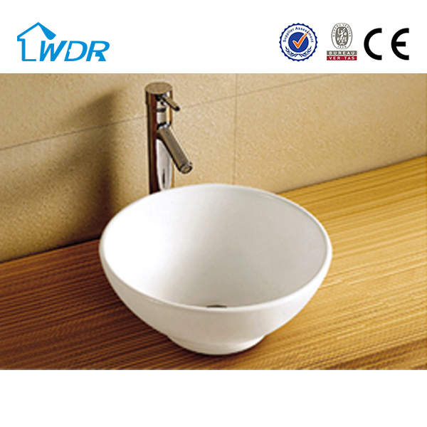 Made In China Small Size Art Vanity Bathroom Wash Basin W6004A