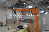 free standing swivel jib crane , professional manufacturer of lifting equipment with ISO & CE certificate