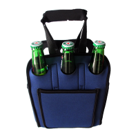 Fda approved plastic 6 pack beer bottle holder